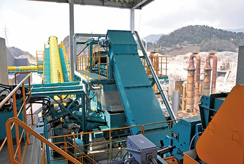 Combined Recycling Plant